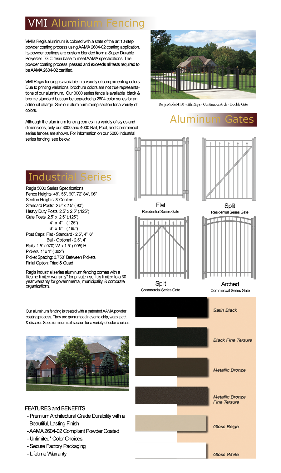 Aluminum Fencing